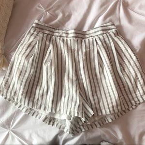Chicwish striped shorts